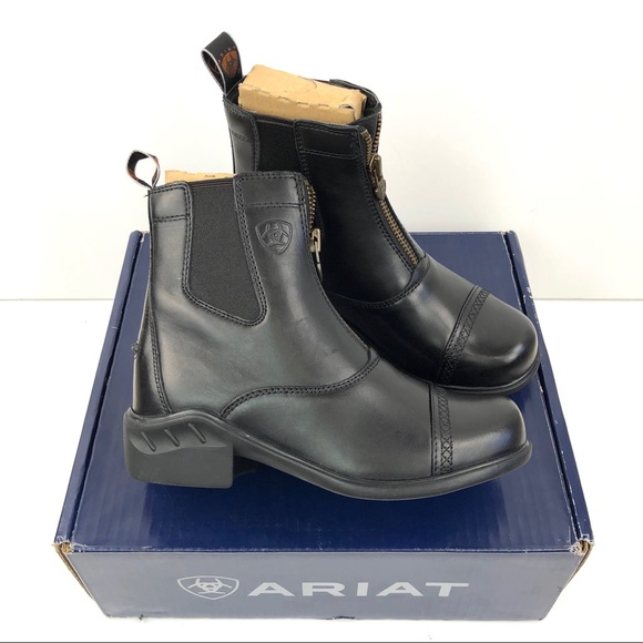 Ariat Shoes - Ariat Heritage RT Paddock Zip Up Boots Leather